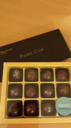 Pan Pacific Singapore : Chocolates