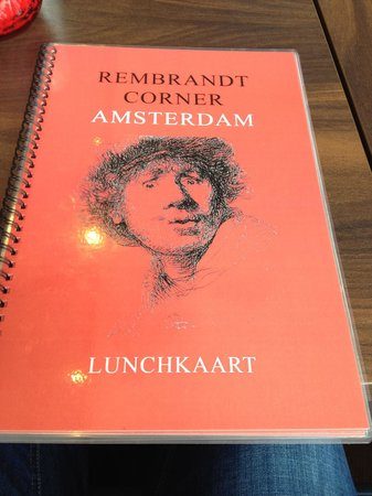 Rembrandt Corner: Меню