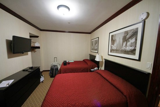 Radio City Apartments: Vue de la chambre