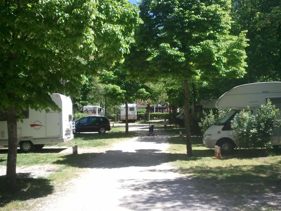 Flaminio Village Bungalow Park: Emplacements