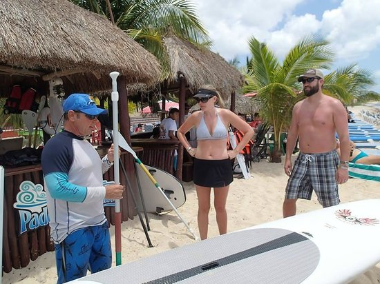 Ha Haak Paddleboarding Cozumel : A quick lesson
