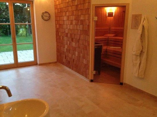 Hotel Gasthof Moosleitner: Sauna