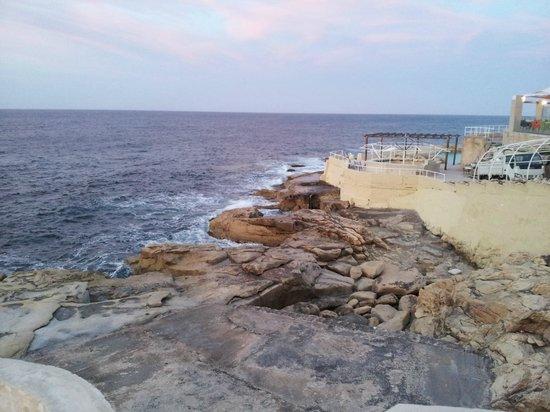 Preluna Hotel & Spa: Вид на море