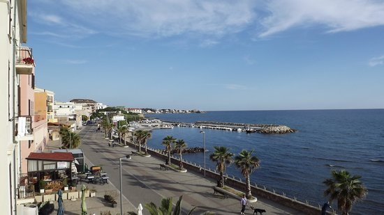 Hotel Miramare : View from the balcony.