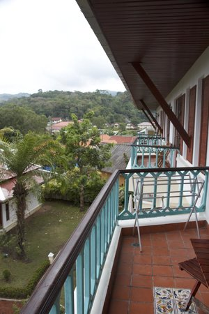 The Pe La Resort: View from 1 bedroom apartment