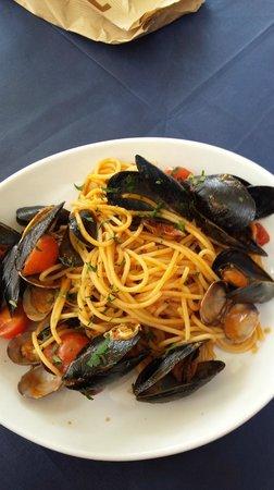 I Capatosta : Spaghetti con cozze