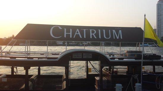 Chatrium Hotel Riverside Bangkok: Private Ferry