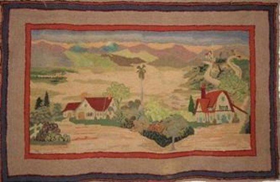 Hooked Rug Museum of North America: Memories of California Hooked Rug