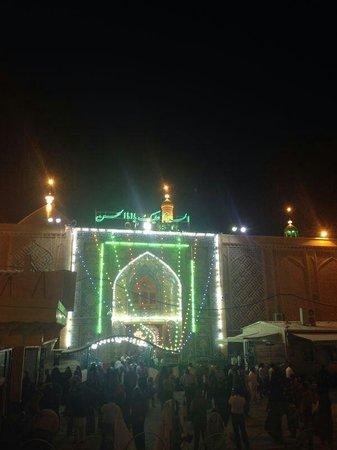 النجف, العراق: imam Ali shrine