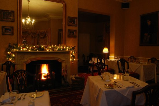 Hackness Grange Country House Hotel : Christmas time at the Derwent Restaurant