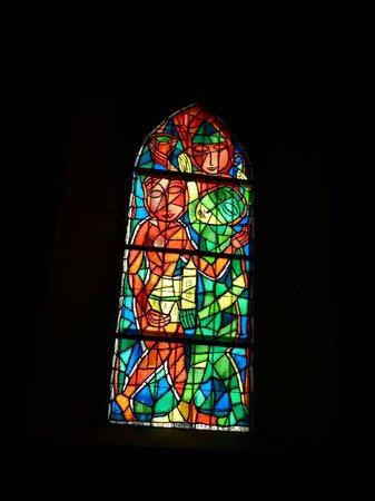 Ruprechtskirche: One of Lydia Roppolt's windows