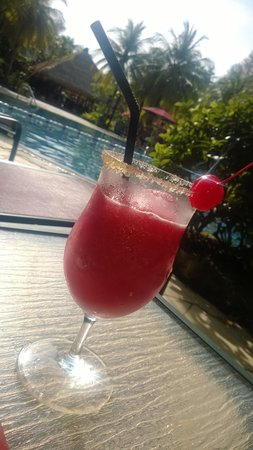 PARKROYAL Penang Resort, Malaysia: Strawberry Daiquiri