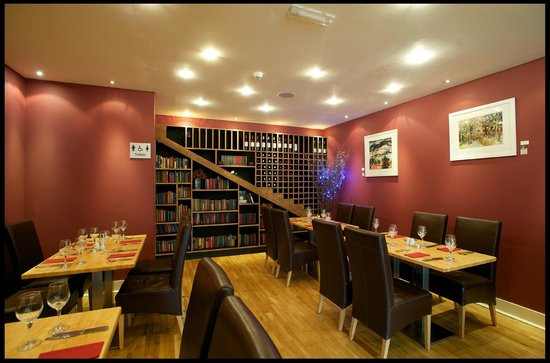 Mains of Taymouth Courtyard Restaurant: The restaurant at The Courtyard Bar & Restaurant, Kenmore
