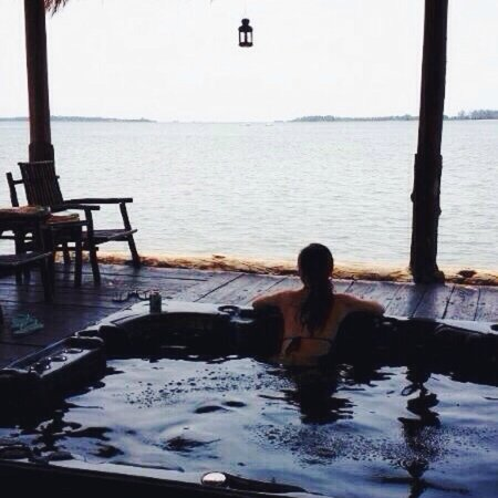 Bintan Spa Villa Beach Resort: Jacuzzi area