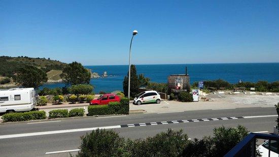 Sol Hotel: La vue du balcon