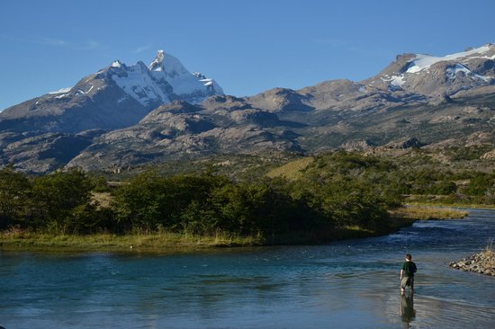 Estancia Cristina Lodge: Fly Fishing Rio Caterina