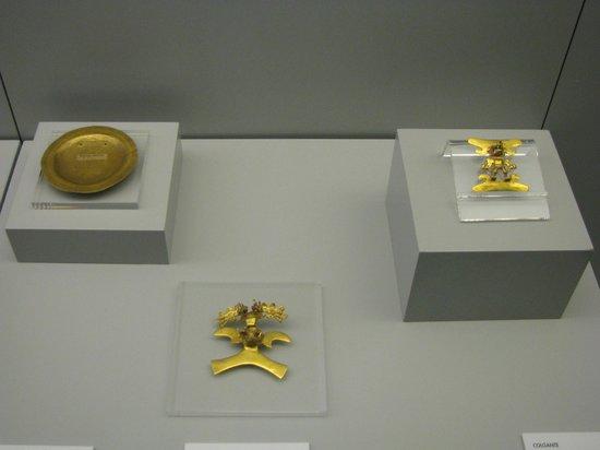 Museo de América: золото индейцев