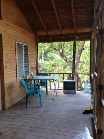 Captain Ron's Hideaway : THE VERANDA
