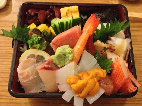 Japanese Restaurant KENJO: sashimi rice
