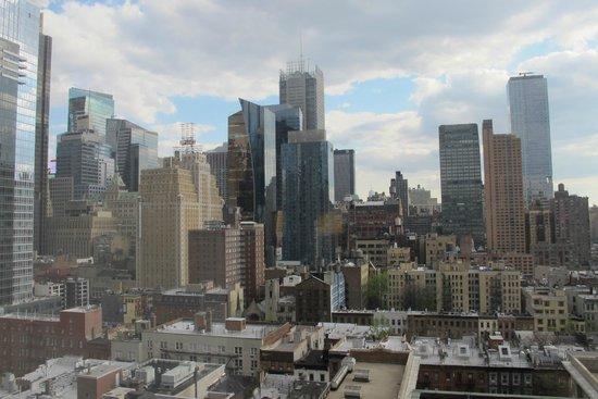 The Belvedere : Uitzicht vanaf de 17e verdieping