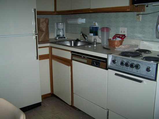 Georgetown Suites: old kitchen area