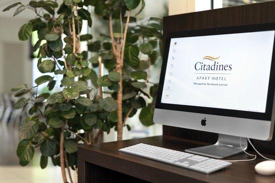 Citadines Kurfuerstendamm Berlin: Buisness corner free internet + Printer for our guests