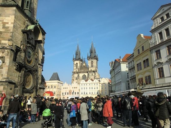Old Town Square : 旧市街広場