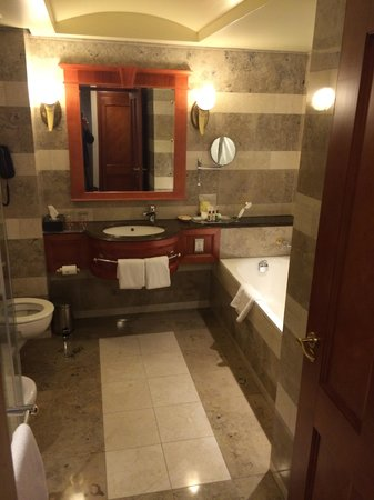 Sheraton Pretoria Hotel: Bathroom