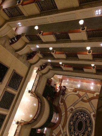 Sheraton Pretoria Hotel : 5-storie atrium