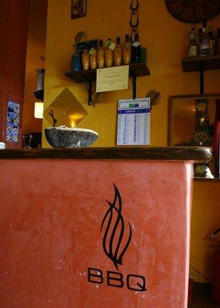 Residence Hotel Lu Nibareddu: Ristorante Pizzeria Griglieria BBQ
