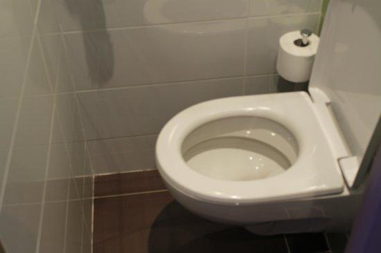 Hotel Le Quercy : toilettes trés petites