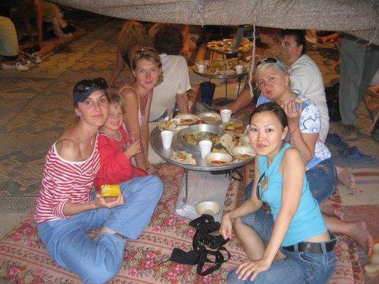 Kfar Hanokdim: ужинаем в бедуин-стиле
