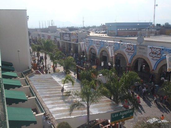 Fiesta Americana Aguascalientes: vista desde la habitacion con balcon