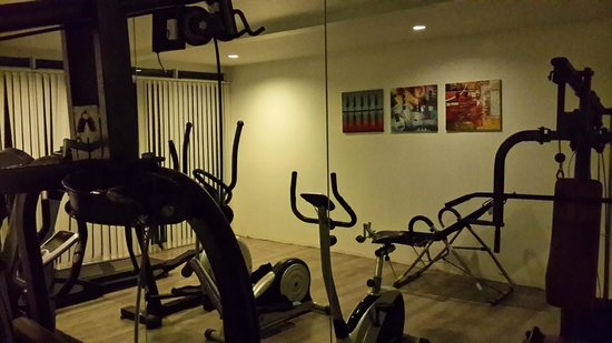 Sugar Marina Resort - ART: A well equipped gym.
