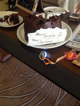 Millennium Plaza Hotel Dubai : Happy bday to me