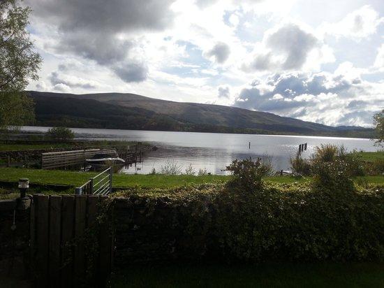 The Inn on Loch Lomond: view from room