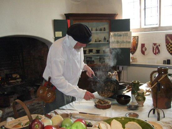 Harvington Hall: Chef at Work
