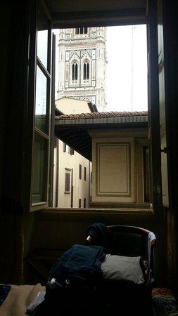 De Lanzi : vista camera letto al secondo piano