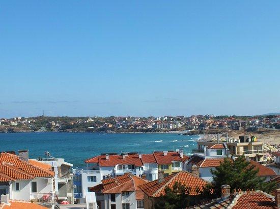 Hotel Chuchulev: вид на море с балкона