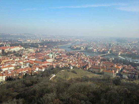 Petrin Tower (Rozhledna) : タワーからの眺め4