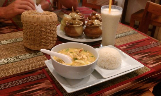 Red Duck Restaurant : Panang Curry