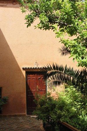 Riad Timadrouine: The patio