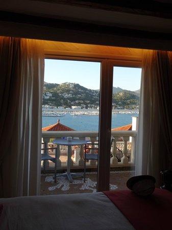 Hotel Villa Italia: View