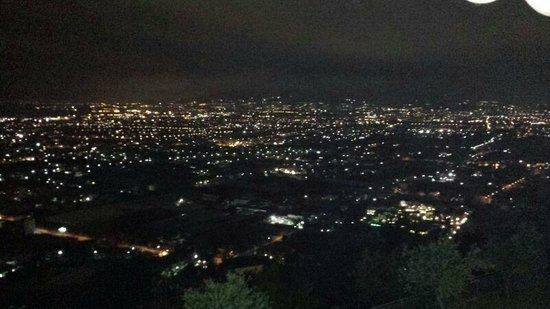La Panoramica: panorama di sera