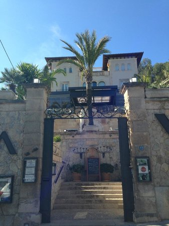 Hotel Villa Italia: Entrance..