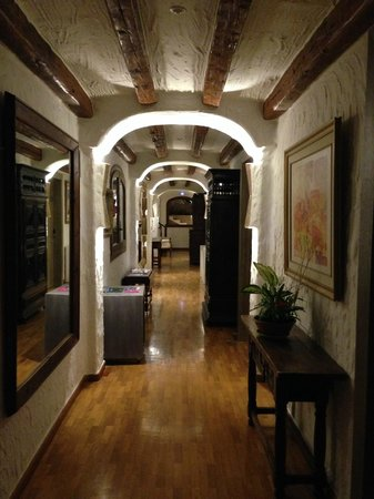 Hotel Villa Italia: Way to a good night sleep..