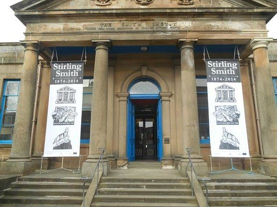 Stirling Smith Art Gallery & Museum: New 140th Birthday Banners 1874 - 2014