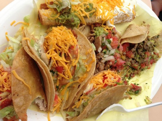 Taco Express: taco platter for 2