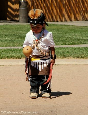 Indian Pueblo Cultural Center : Dancer in Training