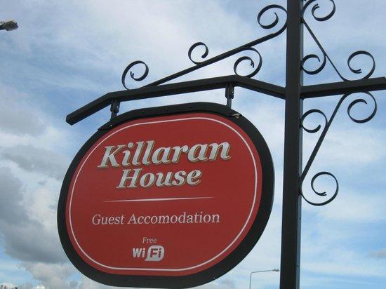 Killaran House: Centrally located; we walked everywhere!